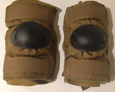 NEW Elbow Pad Set-Coyote Brown-Paintball-Hunting (1) Pair Size-L Unused NIB