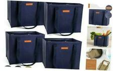 Reusable WASHABLE Grocery Shopping Cart Trolley Bags - set of 4 | Large, Durable