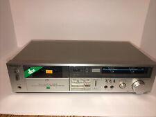 New ListingTechnics Rs-M227X Cassette Deck Tape Player Japan *Tested & Working*