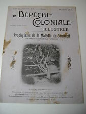 Prophylaxie de la maladie du sommeil en AFRIQUE équatoriale Dépêche Coloniale