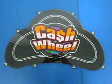 Cash Wheel Slot Machine Topper Casino Plexiglass 843000 - Great Shape!