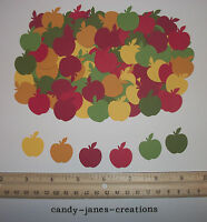 102 MARTHA STEWART FALL APPLE PAPER PUNCHES/ CUT OUTS/ EMBELLISHMENTS