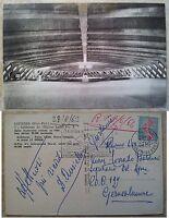 Lourdes: Interno della Basilica Sotterranea di San Pio X, v.ta nel 1963