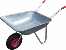 Wheel Barrow Pump Up Tyre 100Kg Weight Capacity 1.2m Entire Length Wheelbarrow