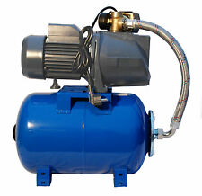 "IBO 1""Booster Pump JSW150 2HP +24L Pressure Vessel- Well,Mains Boosting Set"