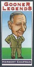 ARSENAL-GOONER LEGENDS-2001/02 #02-HERBERT CHAPMAN-1925-34