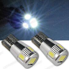 White LED License Plate Light Bulbs No Error for Mercedes BMW