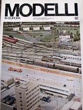 Modelli in Europa 92 1975 - Rivista rara di modellismo