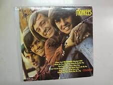 MONKEES:Monkees-U.S.LP Colgems Mono PCV Autographed By Dolenz-Jones-Nesmith-Tork