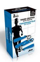 2x Handhantel Handmuskeltrainer Fingerhantel Fitness Unterarmtrainer Sport