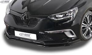 RDX Spoilerlippe Renault Megane 4 IV Limo Grantour GT Line Front Ansatz Schwert