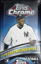 2011 Topps Chrome Baseball Hobby Box   Chris Sale  Aroldis Chapman RC's ??