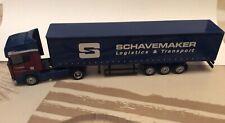SCANIA CURTAINSIDE TRAILER SCHAVEMAKER Model 1/87 Scale