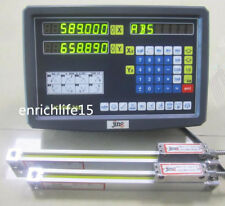 2 Axis digital readout for milling lathe machine with precision linear scale%09