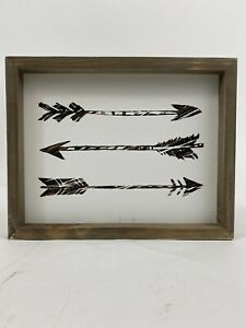 Wooden Wall Decor 3 Arrows Sign 12 X 9.5 Hobby Lobby Home Accents Recessed