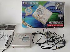 Sharp MD-MT821W (GL) Portable Minidisc Recorder (no sound)