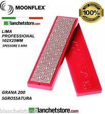 Diaface Moonflex lima diamantata PVC mm 200 Grana 200 RED-102x25 sci e snow