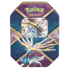 Xerneas EX Tin Pokemon Card Metal Storage Case w/ 4 Booster Packs!