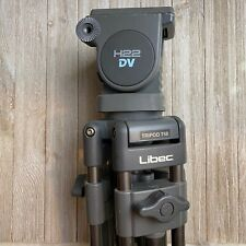 Libec H22 DV Fluid Head With T58 Professional Aluminum Tripod