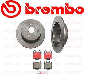 Rear Brake Kit Brembo Lexus GS300 GS400 GS430 IS300 SC430  NEW 08.A038.11