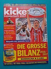 Sportmagazin Kicker Sonderheft 2017 + Kalender Saison 2017/18 ungelesen  1A TOP