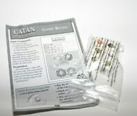 Catan Dice Game Replacement Pieces Game rules & 6 Resource Dice