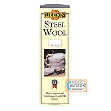 LIBERON 4 x 7g 0000 ULTRA FINE GRADE STEEL WIRE WOOL PADS High Quality