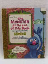 NEW Little Golden Storybook The Monster at the End of This Book 1ST Edition1997