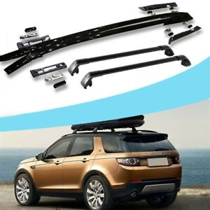 4Pcs Roof Rail Rack Side Rail Bars Cross Bars Fits for discovery sport 2015-2019