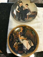 2 Norman Rokwell plates