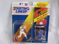 1992 Kenner Starting Lineup Nolan Ryan - Texas Rangers Action Figure Card Poster