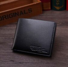 Men's Leather Bifold Wallet Credit Card ID Holder Cash Coin Purse Clutch Handbag