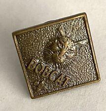 Vintage Boy Scouts Bobcat Pins Pinback