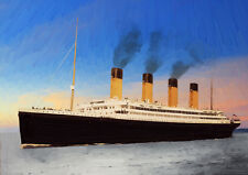 RMS OLYMPIC - HAND FINISHED, LIMITED EDITION (25)