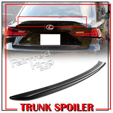 CARBON FIBER FOR LEXUS IS250 IS350 B-TYPE REAR TRUNK LIP WING SPOILER 2018