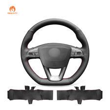 PU Leather Steering Wheel Cover for Seat Leon Ibiza (FR|CUPRA) Alhambra Arona FR