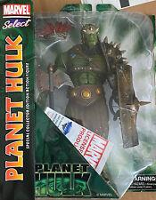 """Marvel Diamond Select 11"""" Planet Hulk Figure NIB"""