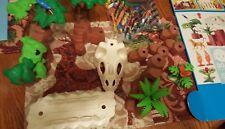 PLAYMOBIL JUNGLE SET # 3040 Skeleton Cave Retired