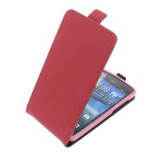 Tasche für Acer Liquid E700 FlipStyle Handytasche Schutz Hülle Flip Case Rot
