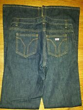 Miss Sixty Slim Fit Women's Dark Wash Jeans Size 27 Mid Rise