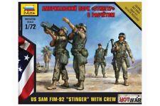 """ZVEZDA 7416 1/72 US SAM FIM-92 """"Stinger"""" with Crew"""