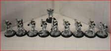 Dust Tactics Axis Lot of 9 Heavy Flak Grenadiers + 1 Grenadier for Parts