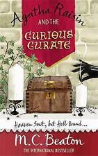 Agatha Raisin and the Curious Curate, M.C. Beaton   Paperback Book   Very Good  