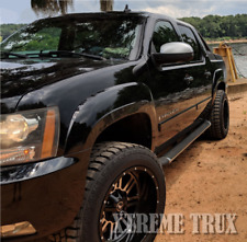 Painted Color Matched 07-13 Chevrolet Avalanche OE Style Fender Flares Set 4