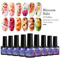 MTSSII UV LED Lamp Gel Nail Polish Blossom Flower Soak Off Varnish Manicure 7ML