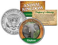 ELEPHANT * Animal Kingdom Series * JFK Kennedy Half Dollar U.S. Coin