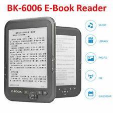 BK-6006 6 inch E-ink E-Book Reader E-Reader Electronic Book MP3 FM USB 4GB