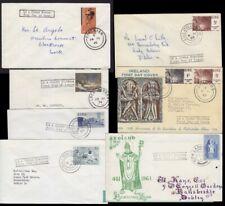 IRLAND : 6 FDC's  1961/74