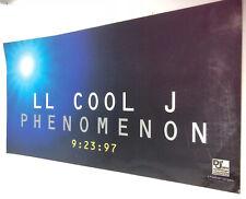"LL Cool J ""Phenomenon 9:23:97"" Vintage Promotional Sticker"