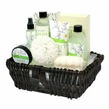 Gift Baskets for Women, Body & Earth Spa Gifts for Her, Lily 10pc Set, Best Gift